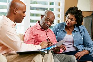 Couple income planning for retirement with investment employee