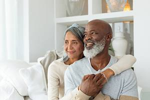 Retired couple thinking of legacy planning