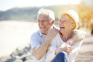 Couple financially stable in retirement