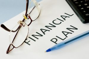 A financial financial planning process in action