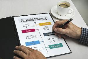 Financial planning concept image. Financial planning is essentially a roadmap to better manage your money