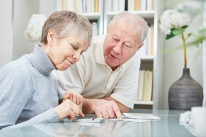 older couple looking to start their financial  planning process