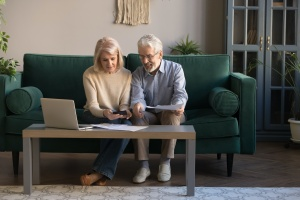 couple getting together their Retirement Income Planning