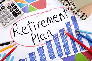 Retirement Plan concept. A good plan is mandatory for tax strategies for retirement